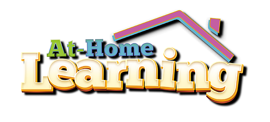 "A graphic which reads, ""At-Home Learning"""