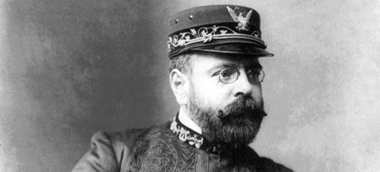 John Philip Sousa conducted the U.S. Marine Band from 1880 until 1892. The Washington Post March helped elevate a relatively unknown Sousa into international fame. (Photo Source: Library of Congress)
