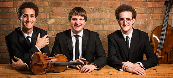 This week, Classical WETA's Front Row Washington presents a performance by leading piano trio, the FRW: The Busch Trio