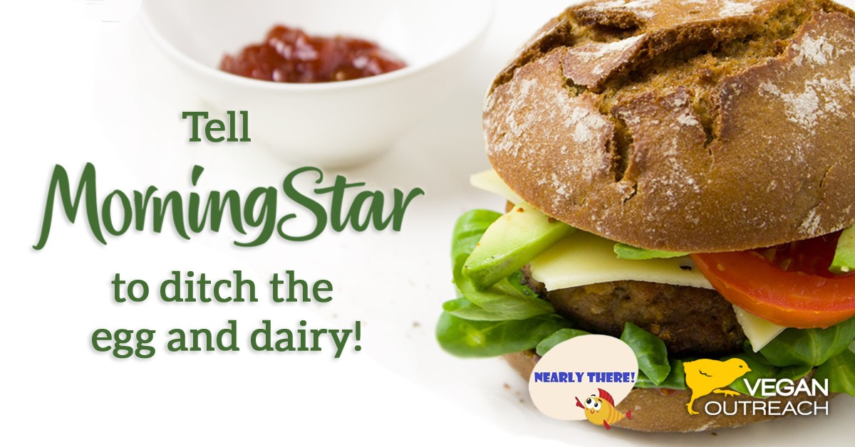 Tell Morningstar to ditch the egg and dairy