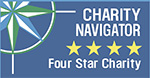 Charity Navigator - Four-star-charity