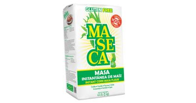 bag of Maseca brand corn flour