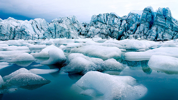 melting arctic