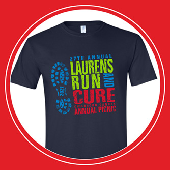 Lauren's Run 2021 Tshirt